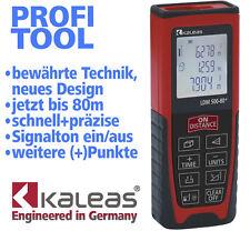 Kaleas LDM 500-80+ Laser Entfernungsmesser Abstandsmesser Distanzmesser bis 80m