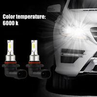 2x 9005 HB3 ampoules phares voiture LED faisceau lumière 35W 4000LM 6000K G