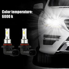 2Pcs 9005 HB3 Voiture DEL Ampoules Phare Kit High Beam Light 35 W 4000 lm 6000K Blanc