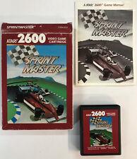 Atari 2600 SPRINT RACER