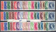 £94.50...NEW PRICE!! - GB Wildings 3 sets UPR. Wmk.1952, 1955 & 1958 - Un/Mint.