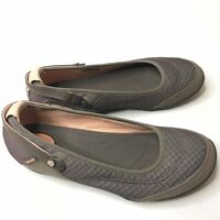 Teva Flat Mary Jane Womens Size 8.5 Ballerina Slip On Brown  Pink