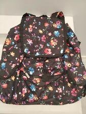 LeSportsac Voyager Backpack Impressionist Flower EUC