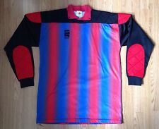 Vintage Athletic Sports Football Trikot jersey gardien gardien de but Rétro 90 S UK L