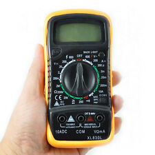 LCD Digital Multimeter AC/DC Voltmeter Amperemeter OHM Schaltkreisprüfgerät Nue
