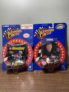 Ricky Rudd Diecast 1/64 Winners Circle - Autographed- Ford Taurus #28 Muppets