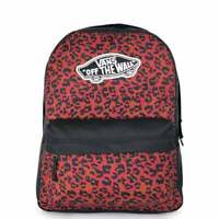 VANS Realm Backpack Wild Leopard VN0A3U6UY11 VANS Schoolbag
