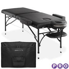 Open Box - Portable Massage Table - Tilt Backrest Aluminum Legs with Case