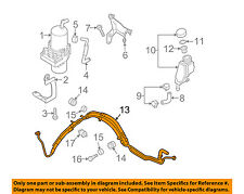 MAZDA OEM 10-13 3-Power Steering Pressure Hose BBY232410A