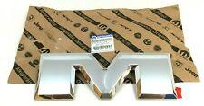 RAM 1500 2500 3500 rear tailgate chrome M Nameplate Emblem new OEM 68245544AE