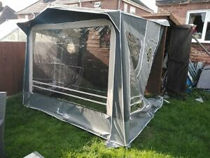 Isabella Minor Caravan Awning Porch Carbon X Poles Pegs Curtains Skirt Ex Con