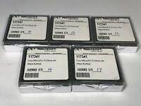5 Newport / CVI PLCX Silica Lens 100mm FL 15mm dia AR 355nm Telescope 117341