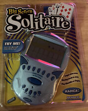 BIG SCREEN SOLITAIRE. Radica 72003 Electronic Handheld Game 2002. NEW SEALED