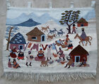 Tapestry rug carpet antique tribal African South Africa 1970