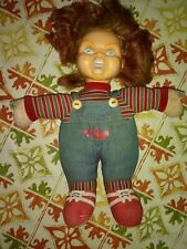 Vintage 1990 Universsl Studios Child's Play 2 Chucky Doll Plush Plastic Face