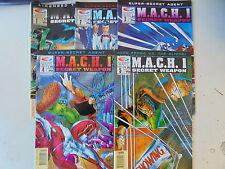 5 x Bande dessinée us-m.a.c.h. 1-secret weapon-Limited Edition # 1-5 - par 1/1-2