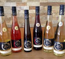 6 Fl. Probierpaket süße Weine rot-rose+weiß mit EISWEIN