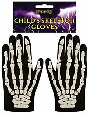 Child's Skeleton Gloves, Costume Accessories, Halloween, School Plays 20426