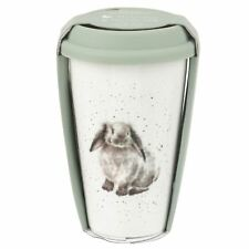 Wrendale Rosie Rabbit Travel Mug With Silicone Lid 0.31L