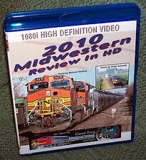 """20171 BLU-RAY HD TRAIN VIDEO """"2010 MIDWESTERN USA REVIEW IN HD"""""""