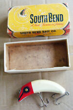 Vintage South Bend Baby Teas Oreno #939 Wood Fishing Lure & Correct Box!