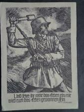 Germany WW1 Red Cross Postcard Card Cover Schiller