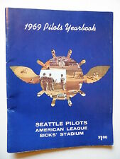 1969 Seattle Pilots Baseball YEARBOOK One Year Only SCARCE