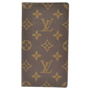 Louis Vuitton Pocket Diary M56340 Monogram Notebook Agenda Cover Case Unisex LV