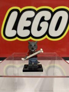 LEGO Series 14 Werewolf Guy & Bone Collectible Minifigure