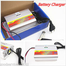 Portable 12V 10A Car SUV Motorcycles Lead Acid Battery Charger EU Plug Universal