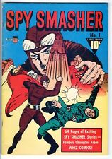 Spy Smasher #1 DynaPubs Flashback #24 B/W reprint 1974 FN