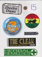 Lot of Marijuana Industry Stickers-Colorado MMJ Dispensary Weed Edibles 420-#15