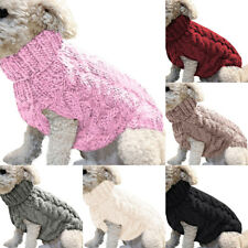 Pet Dog Winter Warm Jumper Pullover Sweater Small Medium Dog Cat Clothes Outwear
