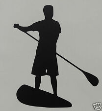 Stand Up Paddle Board (SUP) sticker / autocollant sports nautiques / bateau / kayak / canoë