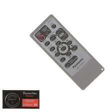 PANASONIC VEQ4504 VIDEO CAMERA Remote Control w/Battery-1 Year Warranty