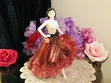 "Coalport Figurine - "" PATRICIA"" - Gypsy Dancer Ladies Of Fashion"