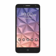 ALCATEL ONETOUCH Fierce XL - 16GB - Black (T-Mobile) Smartphone