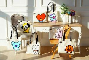 BTS Official BT21 Authentic Goods PVC Shoulder Bag Tote Bag (7Characters)