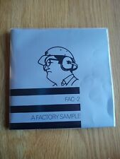"A FACTORY SAMPLE..2 x 7""...JOY DIVISION..DURUTTI COLUMN..INDIE.POST PUNK"