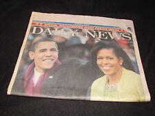 New York Daily News January 21 2009 Barack Obama Inauguration Full Newspaper