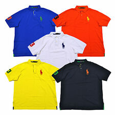 Polo Ralph Lauren Big Pony Polo Shirt Classic Fit Mens Big And Tall Sizes