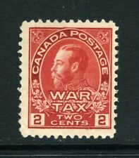 CANADA Scott MR2 - NH - 2¢ Carmine War Tax Stamp (.057)