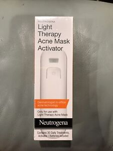 Light Therapy Acne Mask Activator Expiration 10/31/2020 NEW Sealed 30 Uses