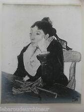 Superbe photographies d art toulouse Lautrec Vincent Van Gogh procédé Druet