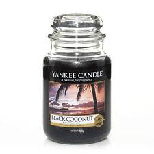 Yankee Candle Jar Glaskerze groß 623g Black Coconut