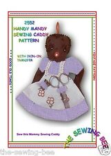 2552  Handy Mandy Sewing Caddy Pattern vintage