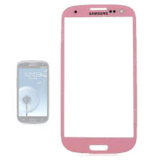 BABY PINK Outer Glass Lens Screen for Samsung Galaxy S3 i9300 GT-i9300