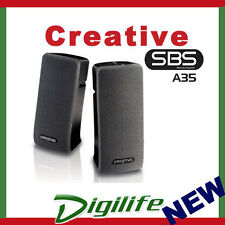 Creative SBS A35 2.0 Sound Speaker System for Computer