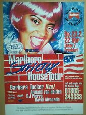 MARLBORO House Tour 1994-orig. Concert Poster DIN a1 84 x 60 cm