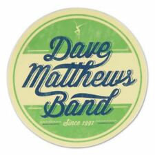 Dave Matthews Band Dmb Circle Logo Since 1991 Sticker New